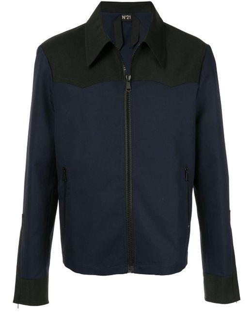 メンズ N°21 リラックス シャツジャケット Black