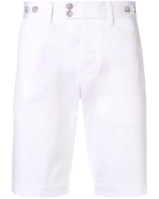 Шорты Узкого Кроя Dolce & Gabbana для него, цвет: White