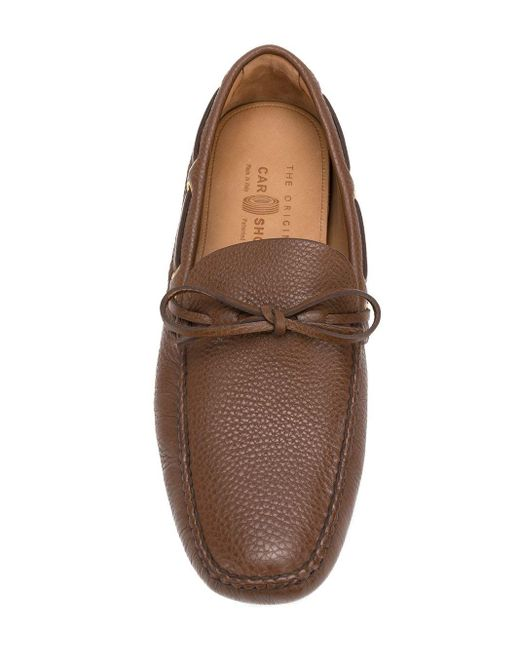 Car Shoe Brown Classic Boat Shoes for men
