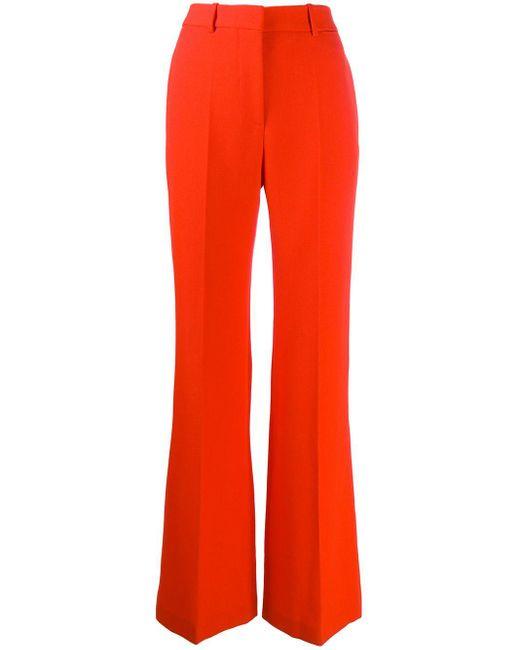 Victoria Beckham ハイウエスト ワイドパンツ Orange
