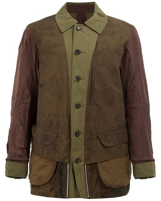 Ziggy Chen - Green Reversible Jacket for Men - Lyst