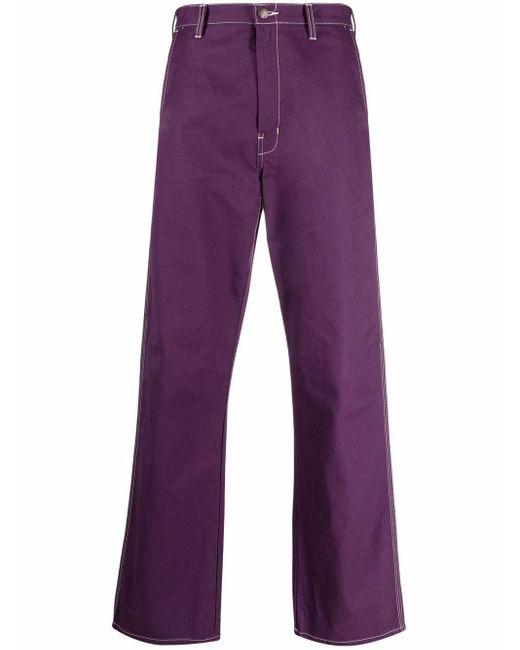 Прямые Брюки Карго Dickies Construct для него, цвет: Purple