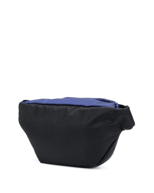 メンズ Marni カラーブロック ベルトバッグ Black