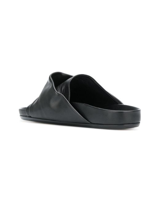 new Rick Owens draped slider sandals low cost sale online outlet view eK6ay4o8