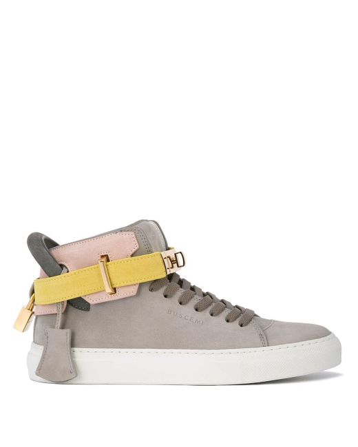Buscemi Gray '100MM' Sneakers