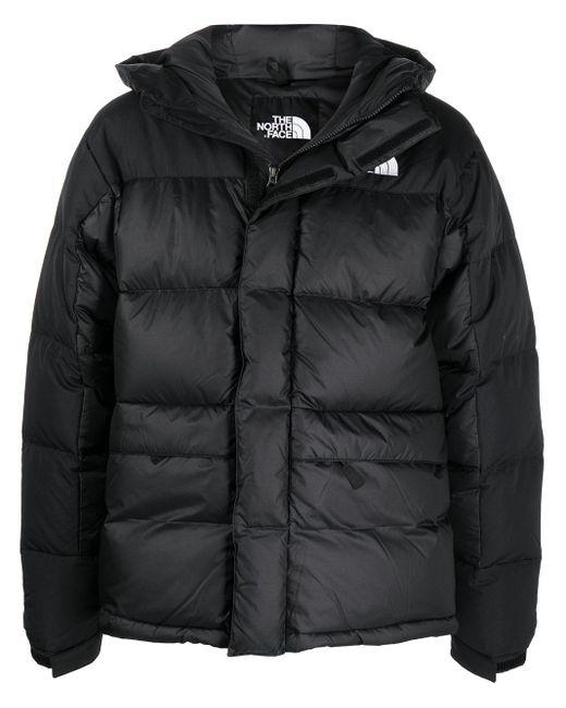 メンズ The North Face ロゴ パデッドジャケット Black