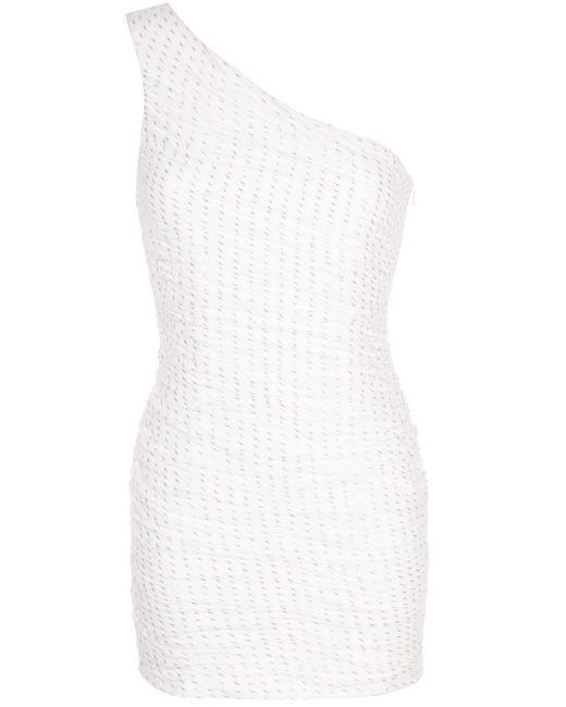Haney Tinsley ワンショルダー ドレス White