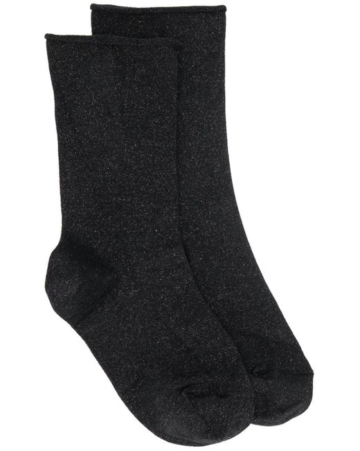 Носки С Эффектом Металлик Brunello Cucinelli, цвет: Black