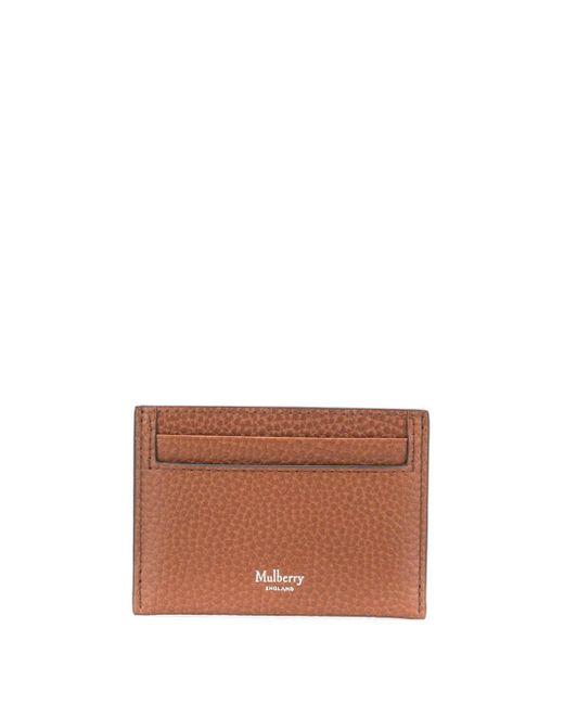 メンズ Mulberry カードケース Brown