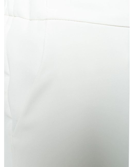 P.A.R.O.S.H. テーパードパンツ White