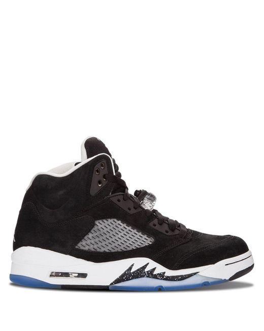 メンズ Nike Air 5 Retro スニーカー Black