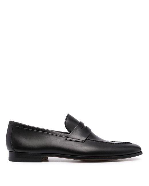 メンズ Magnanni Shoes レザー ペニーローファー Black