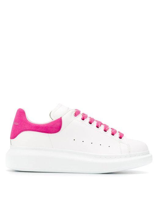 Alexander McQueen オーバーサイズ スニーカー Pink