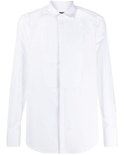 メンズ DSquared² タキシードシャツ White