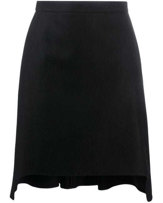 Плиссированная Юбка А-силуэта Alexander McQueen, цвет: Black