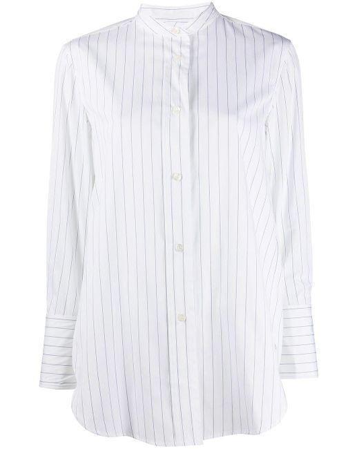 Aspesi オーバーサイズ ストライプ シャツ White