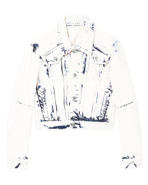 PROENZA SCHOULER WHITE LABEL クロップド ジャケット Multicolor