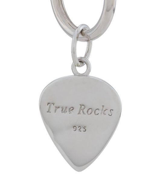 Серьга-кольцо С Подвеской True Rocks для него, цвет: Metallic