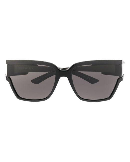 Balenciaga クスエアフレーム サングラス Black