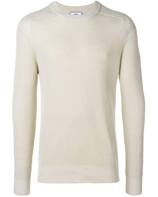 メンズ AMI クルーネック セーター Multicolor