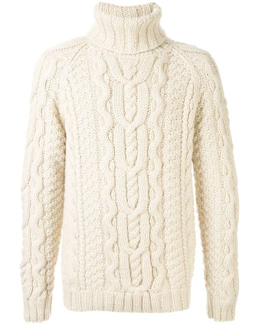 メンズ Dolce & Gabbana タートルネック プルオーバー White
