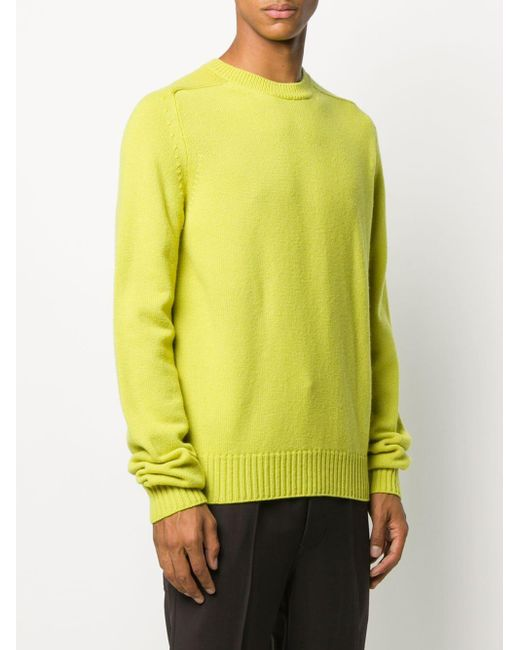 Свитер С Круглым Вырезом Bottega Veneta для него, цвет: Green