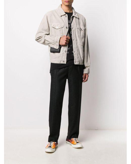 メンズ Isabel Marant コーデュロイ シャツジャケット Multicolor