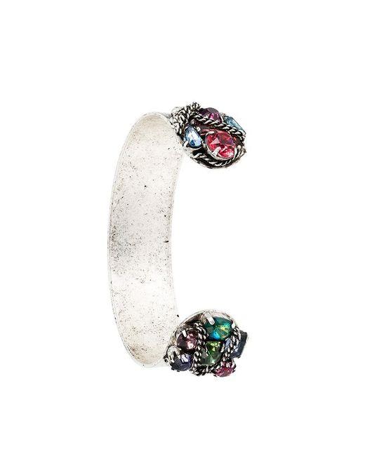 DANNIJO | Metallic Swarovski Crystal Adana Bracelet | Lyst