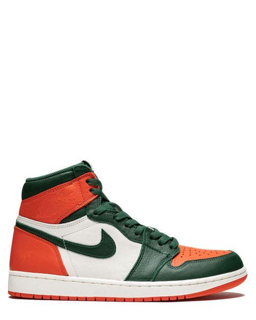 メンズ Nike Air 1 Retro High Og スニーカー Orange