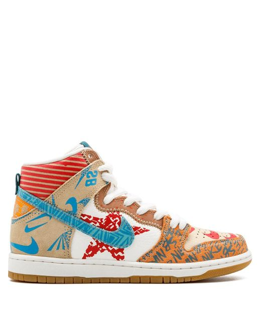 メンズ Nike Sb Zoom Dunk High Prem スニーカー Multicolor