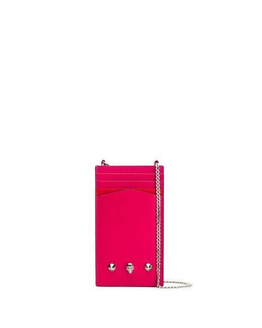 Alexander McQueen ショルダーバッグ Pink