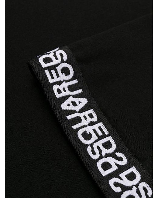 DSquared² ロゴトリム タンクトップ Black
