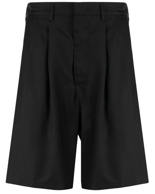 メンズ Buscemi プリーツ ショートパンツ Black