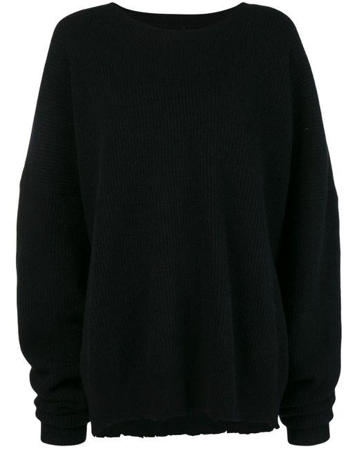 Unravel Project オーバーサイズ セーター Black