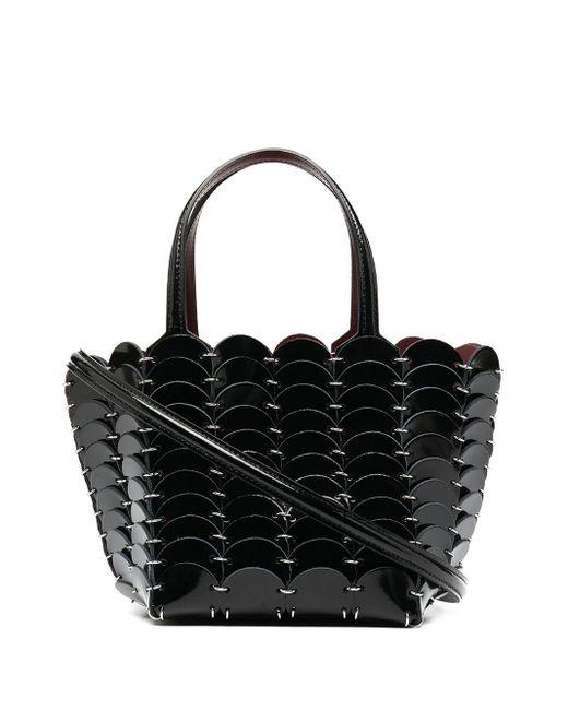 Paco Rabanne Black Pacoïo Mini Crossbody Bag