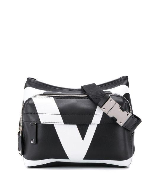 メンズ Valentino Garavani Vロゴ ベルトバッグ Multicolor
