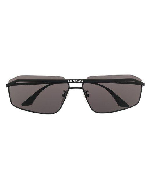 Occhiali da sole Hybrid di Balenciaga in Black da Uomo