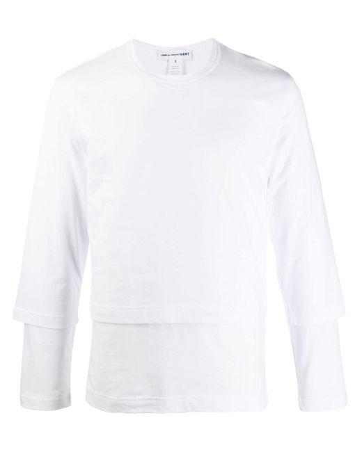 メンズ Comme des Garçons スウェットシャツ White