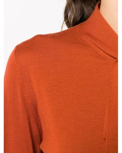 Трикотажный Топ С Бантом Dolce & Gabbana, цвет: Orange