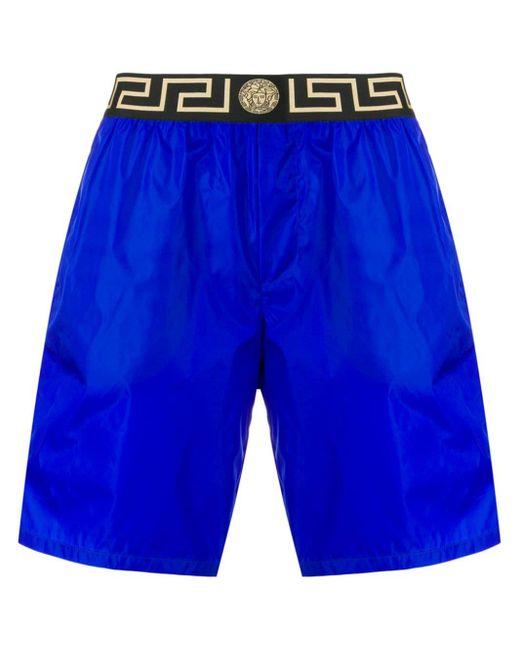 Versace Medusa Zwembroek in het Blue voor heren
