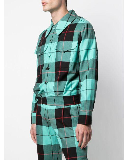 メンズ CHARLES JEFFREY LOVERBOY Civil Uniforms ジャケット Green