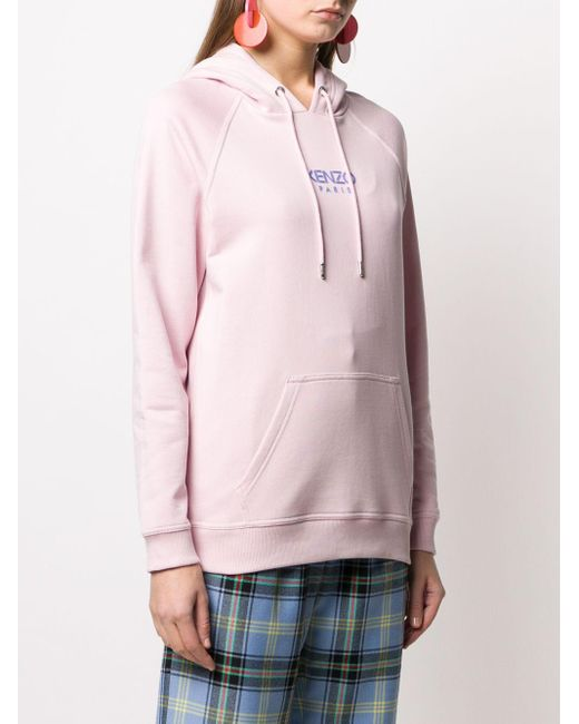 KENZO ロゴプリント パーカー Pink