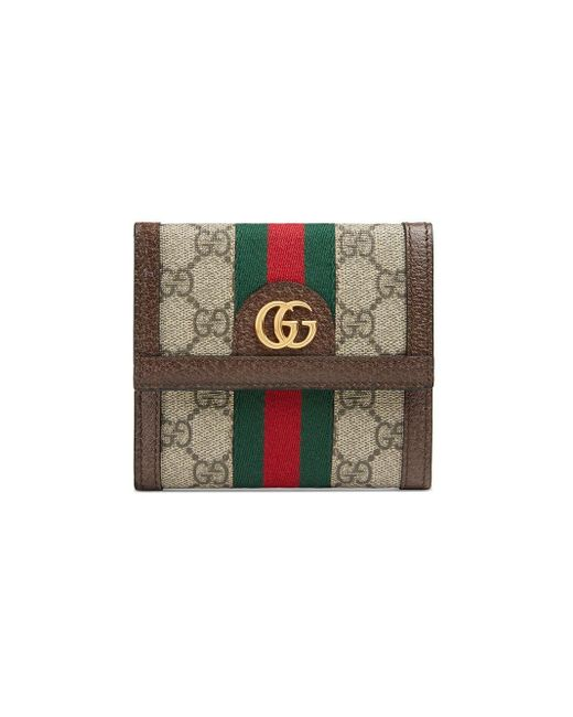 Gucci 〔オフィディア〕GG ウォレット Brown