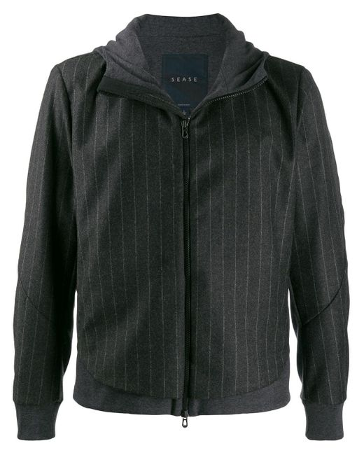 メンズ Sease パネル ボンバージャケット Gray