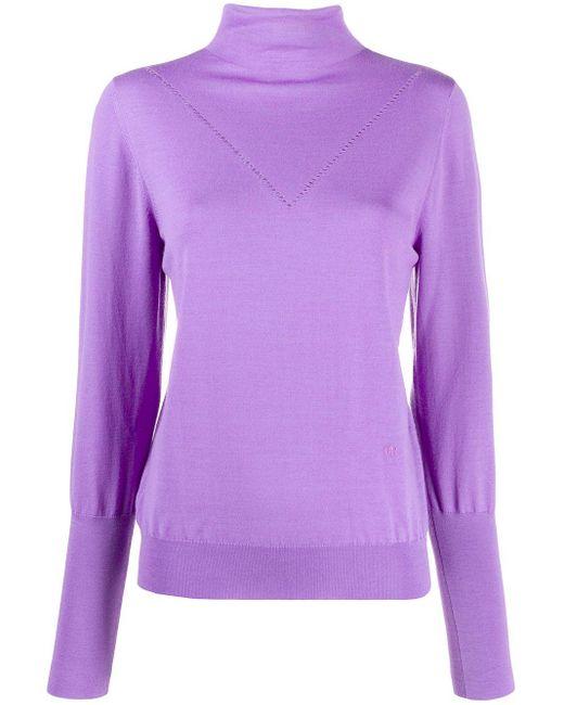 Victoria, Victoria Beckham Peek-a-boo セーター Purple