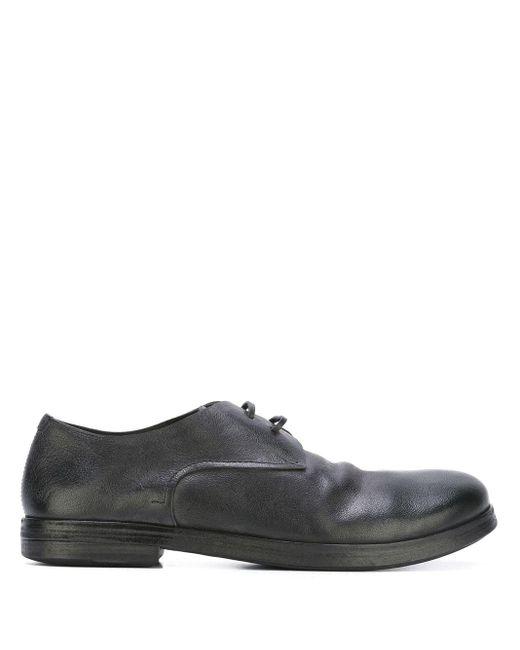 Туфли Дерби С Закругленным Носком Marsèll для него, цвет: Black