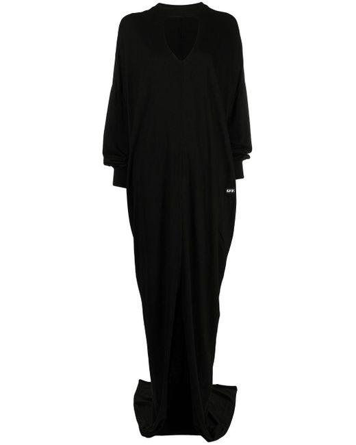 Rick Owens Drkshdw カットアウト ドレス Black