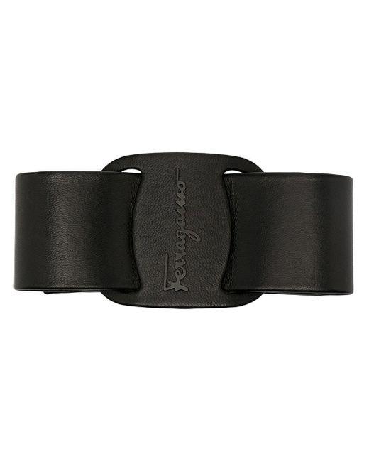 Заколка Для Волос С Логотипом Ferragamo, цвет: Black