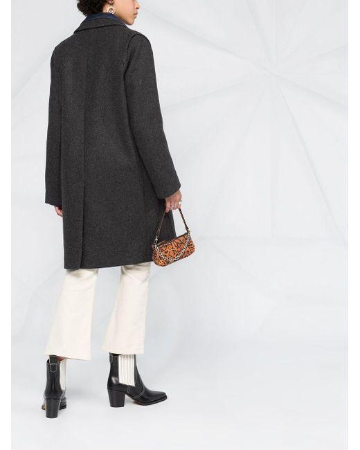 Однобортное Пальто Marla Zadig & Voltaire, цвет: Gray