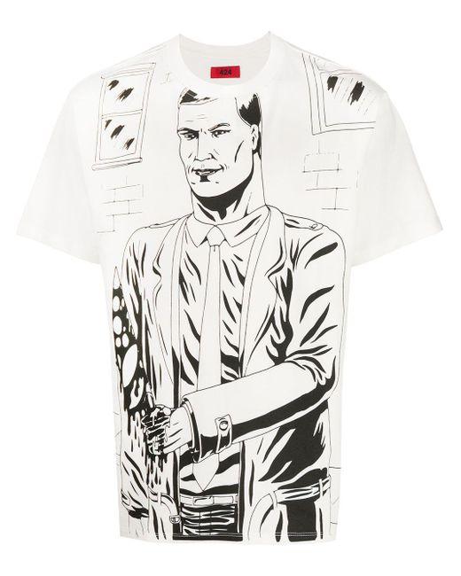 メンズ 424 グラフィック Tシャツ Multicolor